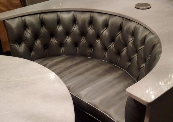 Curved Kitchen Island Bench Seating