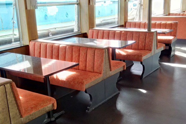 River Ferry Fixed Bench Seating